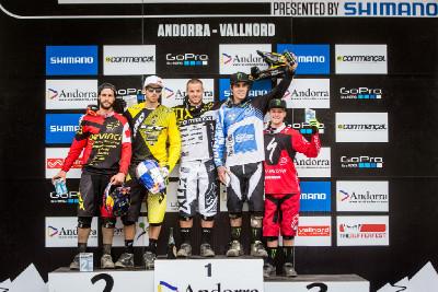 Světový pohár DH #3 2013 - Vallnord