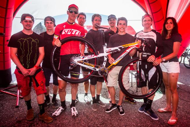 Fotogalerie: Světový pohár MTB XCO 2013 - #4 Vallnord