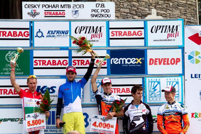Fotogalerie: Český pohár XCO 2013 - #4 Pec pod Sněžkou