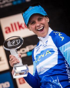 Kateřina Nash celkově třetí ve světovém poháru
