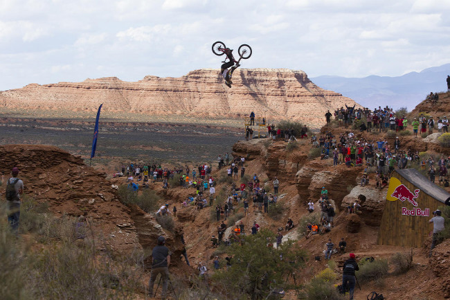 Red Bull Rampage Kelly McGarry