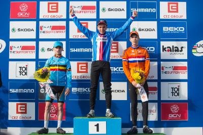 Adam Ťoupalík vítězem kategorie juniorů