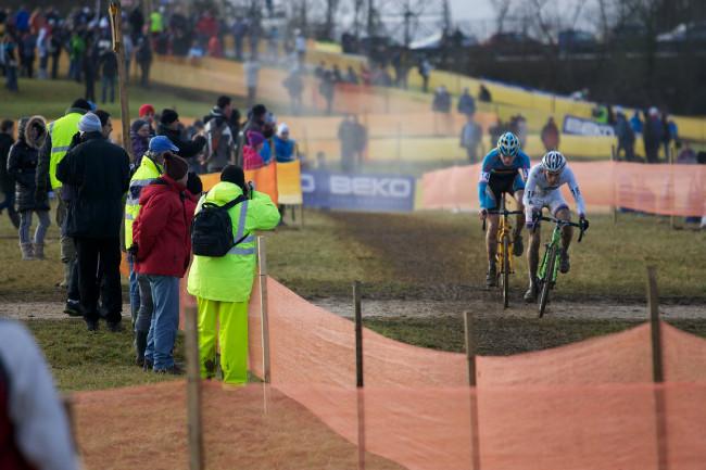 Světový pohár v cyklokrosu, Nommay 2014: Adam Ťoupalík na trati