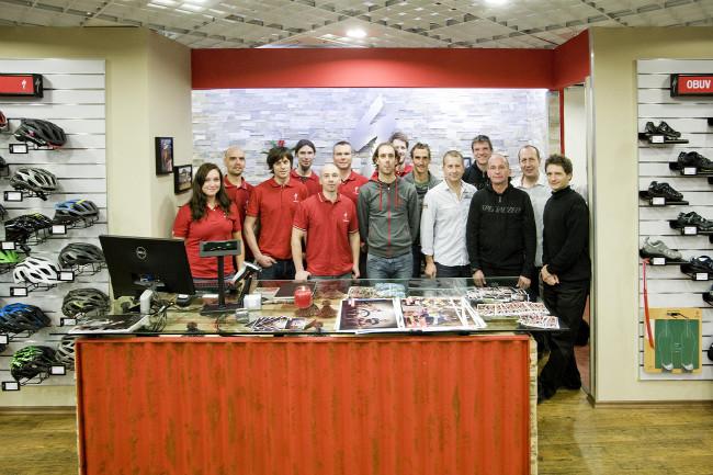 Specialized Concept store Plzeň realizační tým