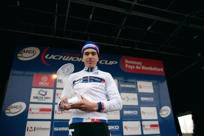 Světový pohár v cyklokrosu, Nommay 2014: Adam Ťoupalík - vítěz SP