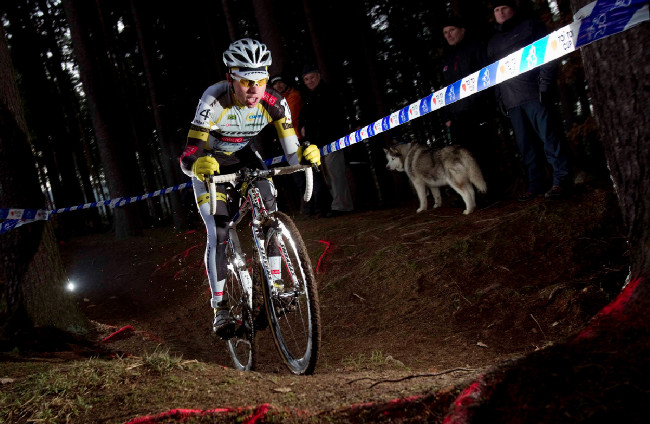 MČR v cyklokrosu, Loštice 2014: Emil Hekele