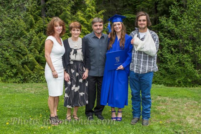 Tom Pro s rodinou
