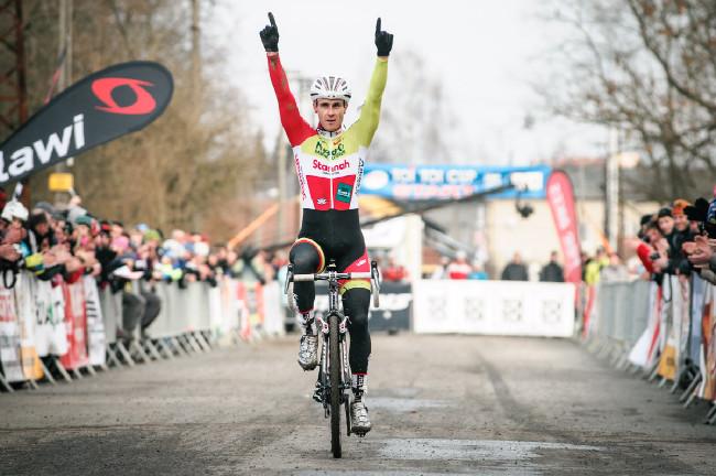 MCŘ v cyklokrosu, Loštice 2014: první vítězství na domácím šampionátu