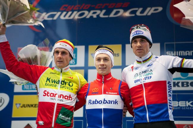 Fotogalerie: Světový pohár v cyklokrosu, Zolder 2013