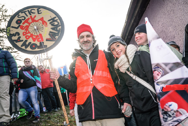 MCŘ v cyklokrosu, Loštice 2014: Páprda Ultras!