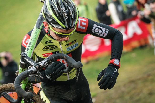 MCŘ v cyklokrosu, Loštice 2014: Michael Boroš