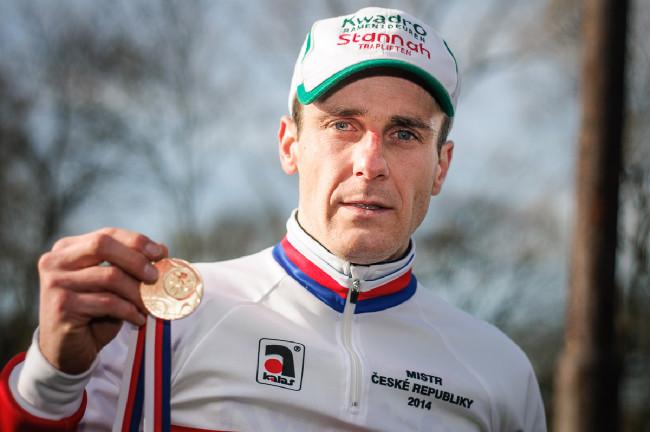 MCŘ v cyklokrosu, Loštice 2014: Martin Bína - The Czech Champion