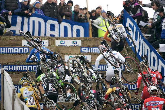 Světový pohár v cyklokrosu, Nommay 2014: start ženy