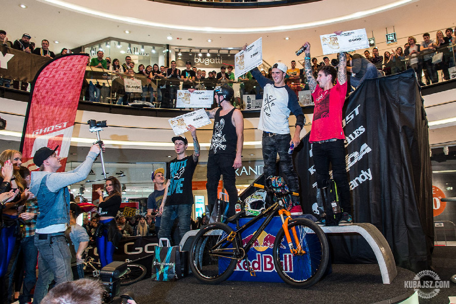 Arkády Downmall 2014 freestyle MTB