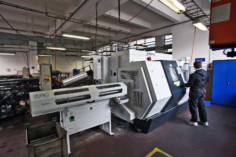 Remerx - Nový CNC stroj