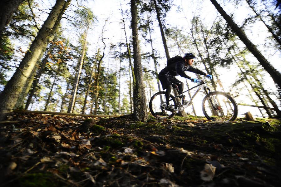 Krabcycles Trek testing Hynek Hájek
