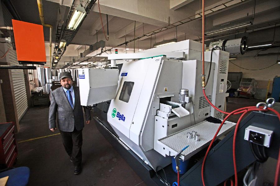 Remerx - nový CNC stroj zprovoznil Remerx na přelomu roku