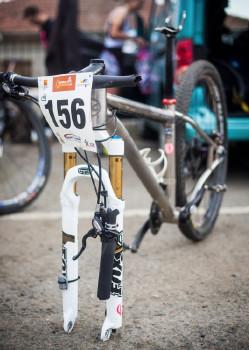 Bike Denisy Bartizalové po tvrdém pádu