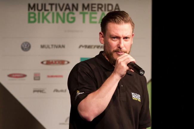 Fabian Aust, manažer týmu Multivan Merida