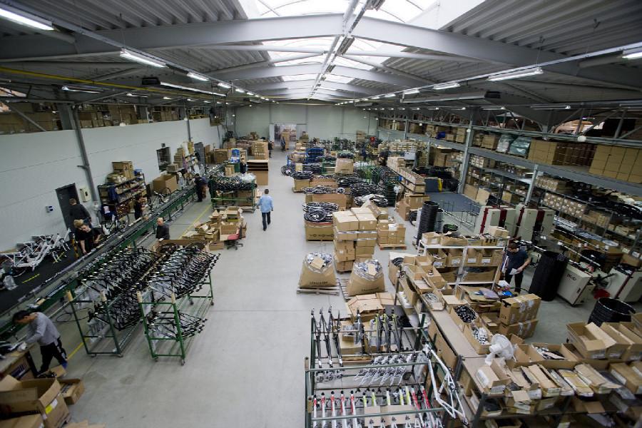 Na návštěvě v Leader Foxu - výrobní hala