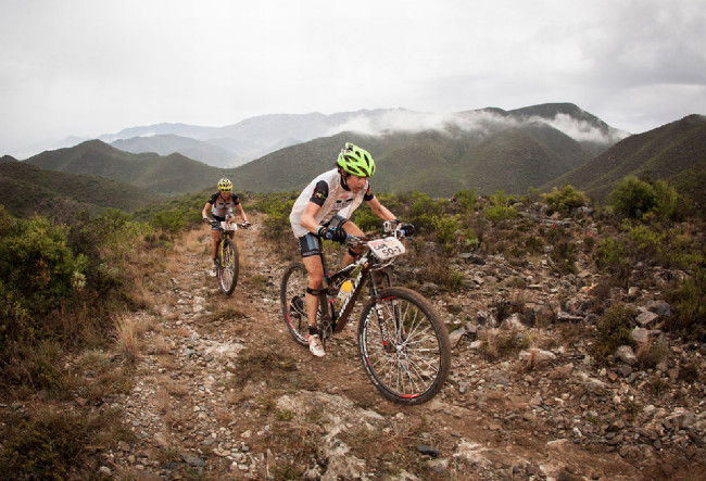 Cape Epic 2014 - Esther Süss a Sally Bigham