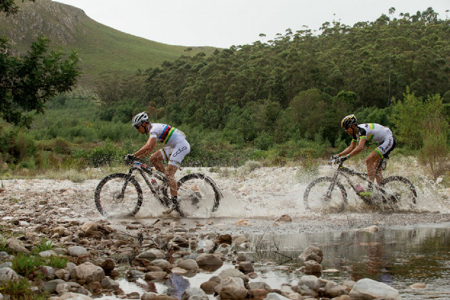 Cape Epic 2014 - Nino a Philip