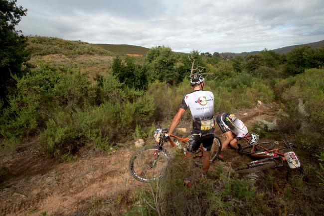Cape Epic 2014 - zase Susi s defektem, Fery přihlíží