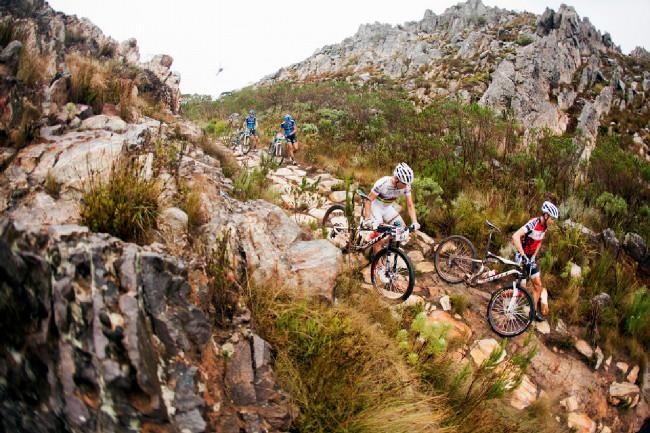 Cape Epic 2014 - občas i Nino nedá všechno