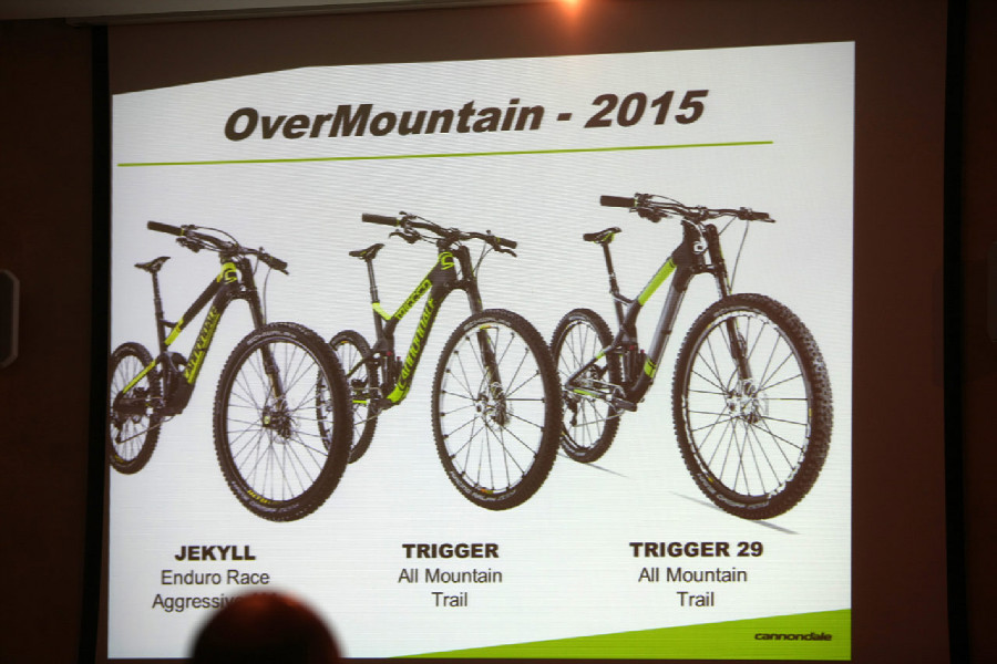 Cannondale Overmountain prezentace 2015