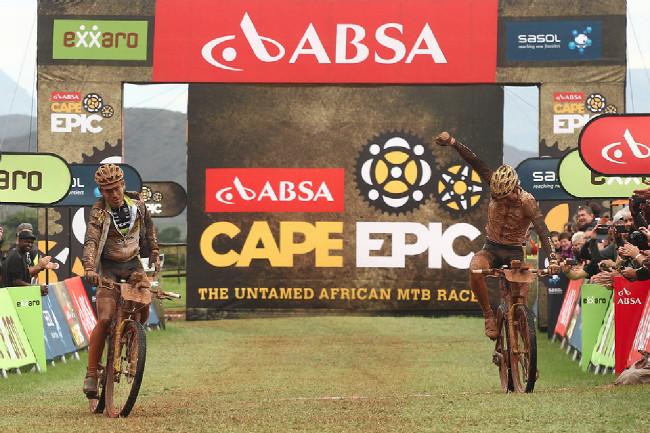 Cape Epic 2014 - vítězství v druhé etapě ještě Kristiána s Robertem do žlutého dresu neposunula