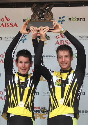 Cape Epic 2014 - well done boys!