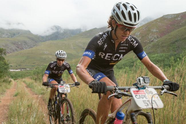 Cape Epic 2014 - Annika Langvad a Arianne Kleinhans