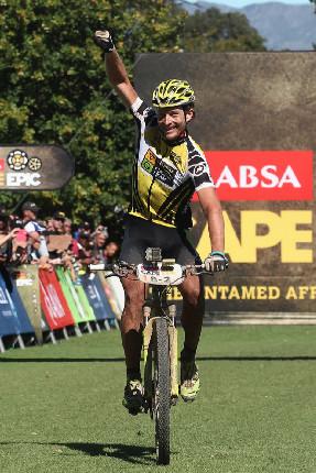 Cape Epic 2014 - s blížící se nedělí nabíral na síle i Kristiánův úsměv