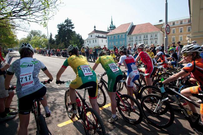 ČP MTB XCO Teplice 2014: start juniorek