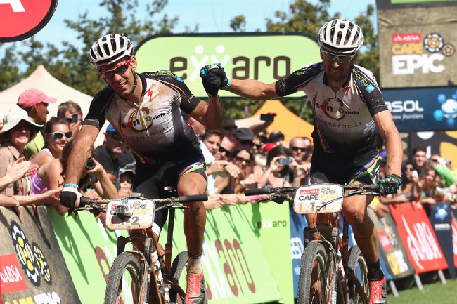 Cape Epic 2014 - Fery a Susi