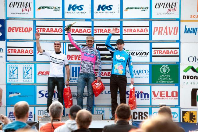 ČP MTB XCO Teplice 2014: nejlepší trojice Masters I