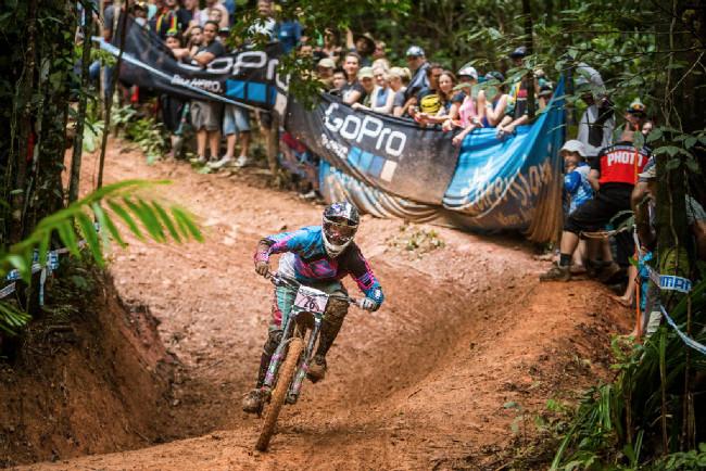 Světový pohár MTB DH #2 - Cairns: Gabriela Williams