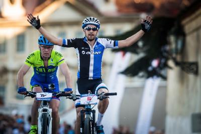Fabian Giger vítězí