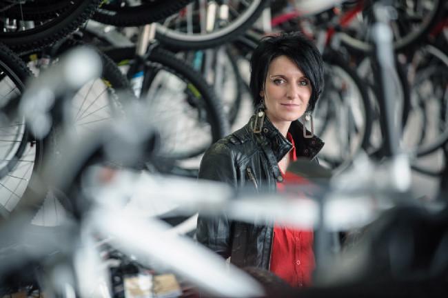 Svět jízdních kol - Brno - nová majitelka Lucie Pennino