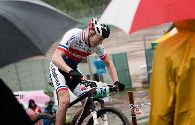 Český pohár MTB - XCE #1 - Bedřichov 2014: Jan Nesvadba