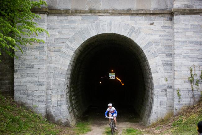 Author Šela Marathon 2014 - Slavičínský tunel