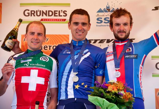 Trojice nejlepších bikerů z ME 2014