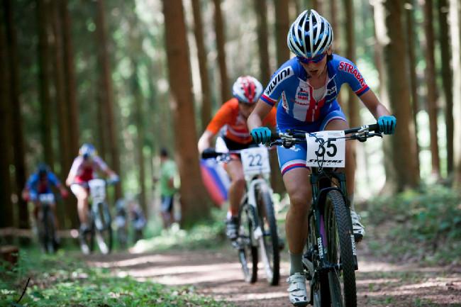 Jitka Škarnitzlová měla v prvním kole nejlepší pozici mezi Češkami