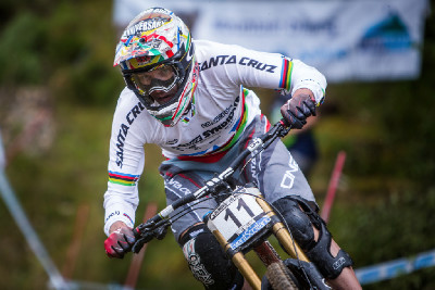 Greg Minnaar jede svůj 100. závod ve Světovém poháru