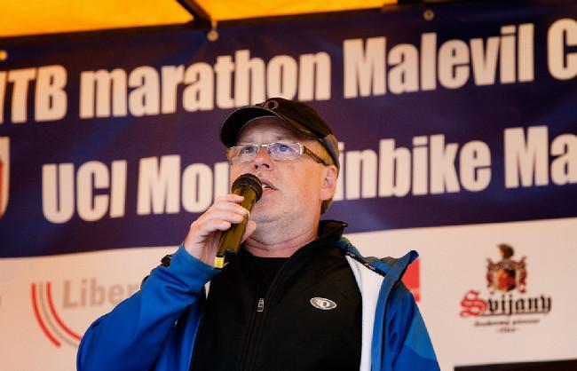 Malevil Cup 2014: šéf závodu Radek Patrák