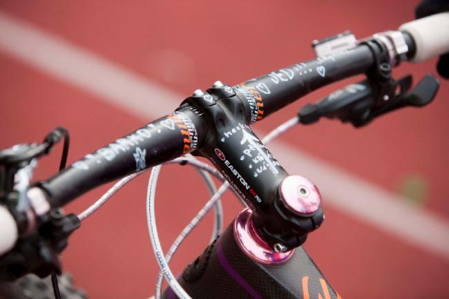 Podpora na kole Báry Machulkové