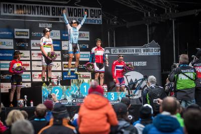 Kathrin Stiernemann vítězkou dámského sprintu