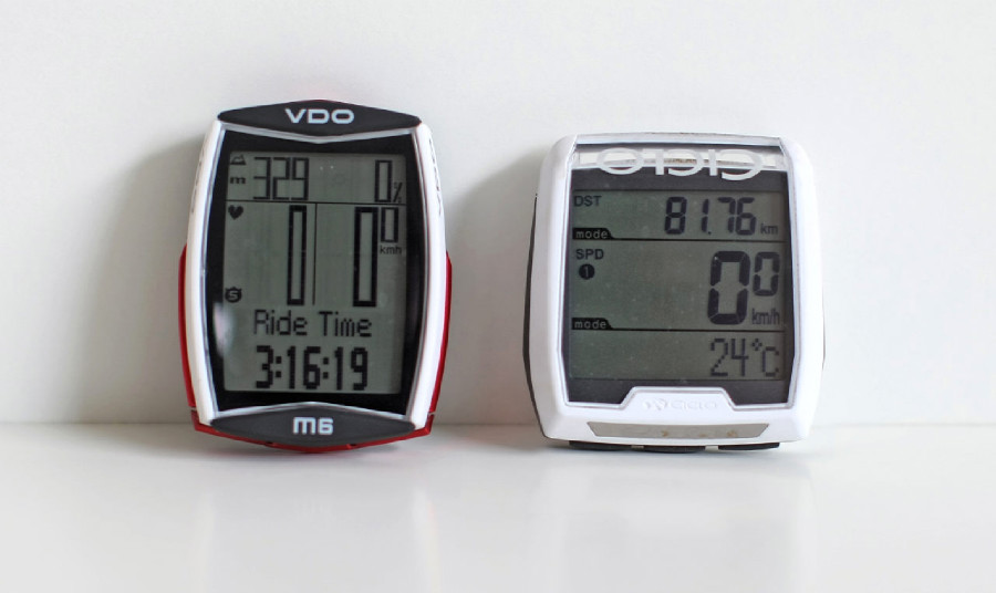 TEst computerů VDO vs.Ciclosport