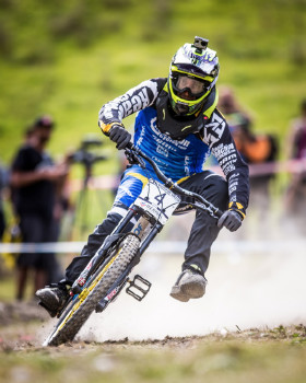 Foot out, flat out Sam Hill
