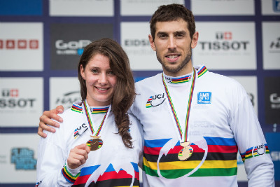 Manon Carpenter a Gee Atherton